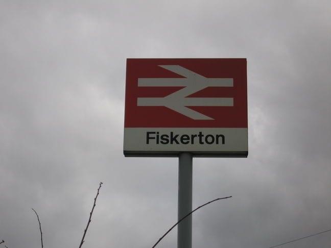 Image result for fiskerton train station